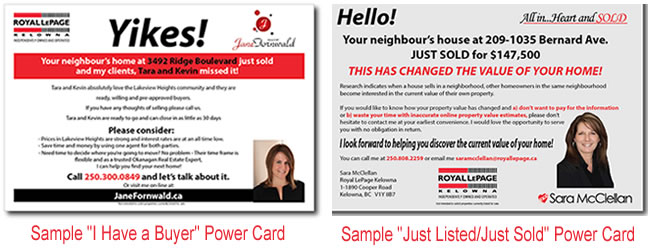 direct mail for realtors 2014