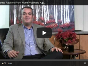 merry christmas realtors from Wade Webb and Agents Boost