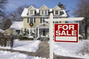 Buy or sell real estate in the winter