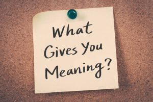 find meaning in your real estate business