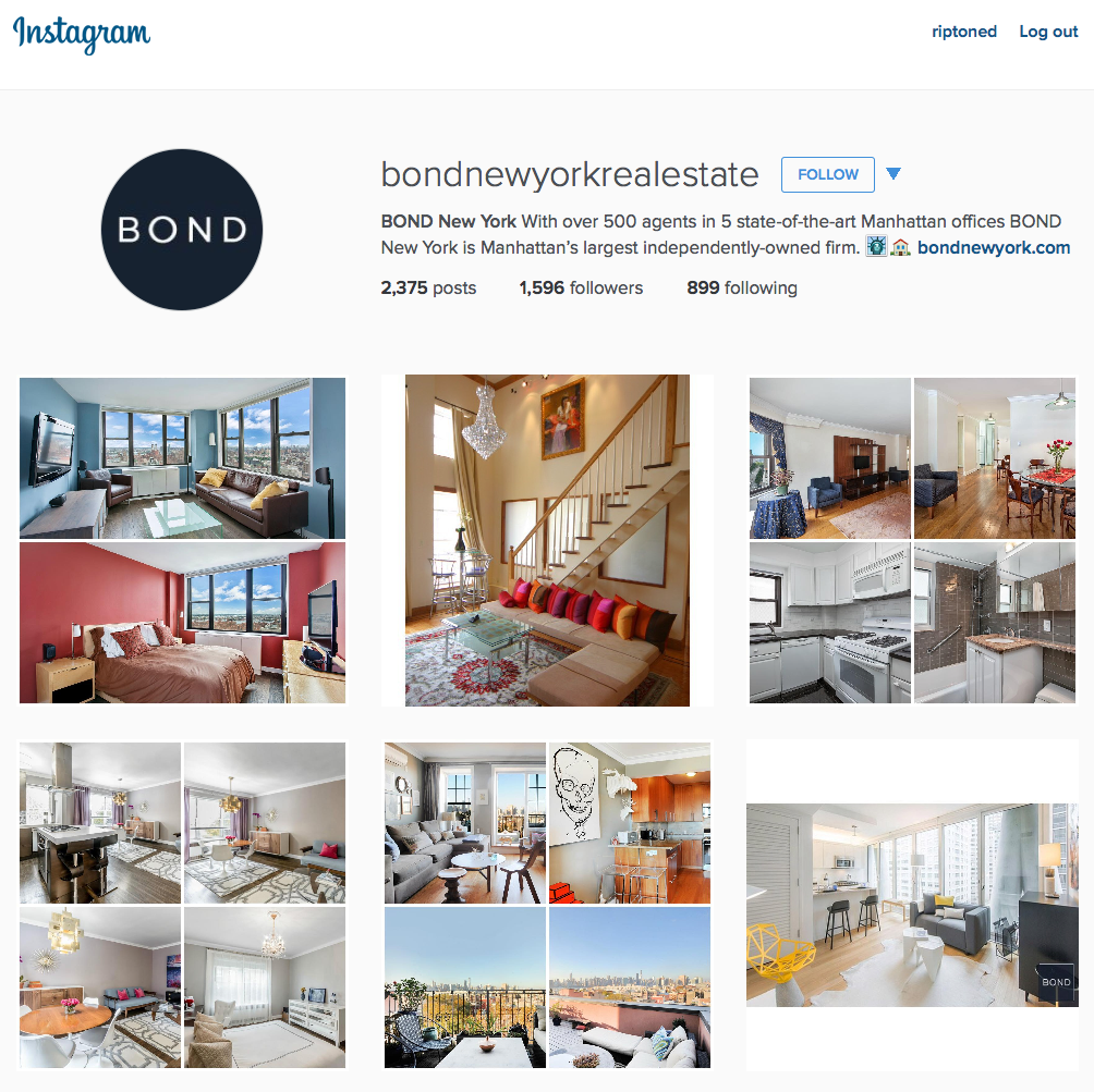 Instagram New York Real Estate Wade Webb Real Estate Coaching