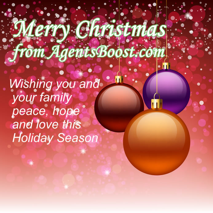 Merry Christmas from Agents Boost.com
