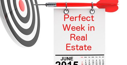 How To Create That Perfect Week In Real Estate