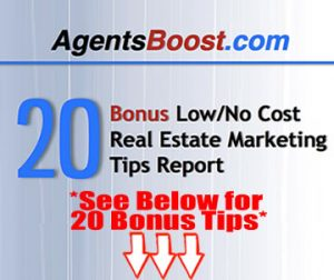 21 Low or No Cost Real Estate Marketing Tips for 2014