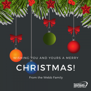 Merry Christmas from Wade & Everyone at AgentsBoost
