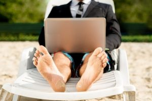 Summer Vacation From Real Estate or You Worked Remotely?